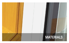Patio door materials