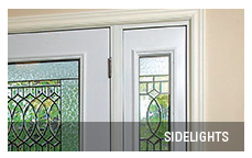 Entrance door sidelights