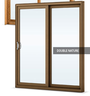 DoubleNature patio door details
