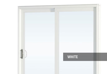 Vinyl patio door details