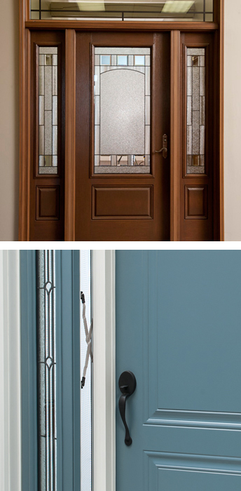 » Sidelights (entrance doors)