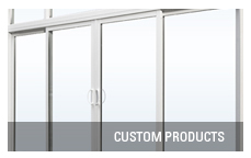 Patio door custom products