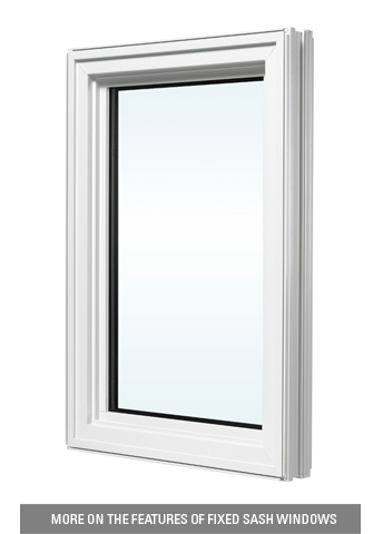 Fixed sash window