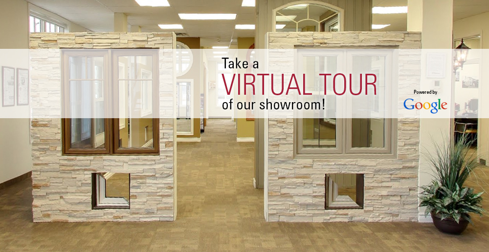 Virtual showroom tour slide
