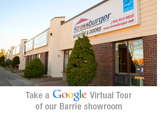 Google virtual tour of our Barrie showroom
