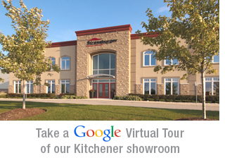 Google virtual tour of our Kitchener showroom
