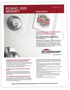 US Entrance Door Warranty