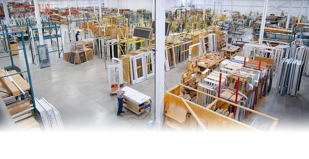 Window and door manufacturing plant