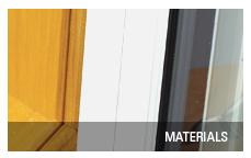Terrace door materials