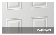 Entrance door materials