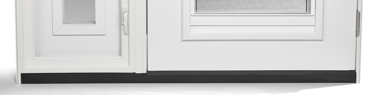 Continuous door sill
