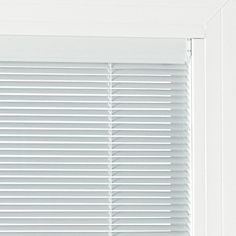 Mini blinds for patio door
