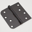 Oil rubbed bronze door hinge