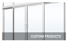 Patio door custom products