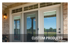Terrace door custom products
