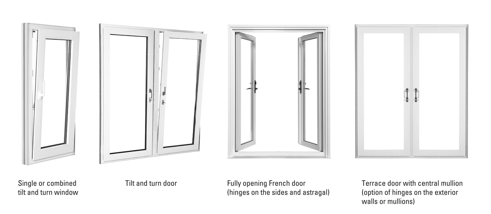 Tilt And Turn Styles Strassburger Windows And