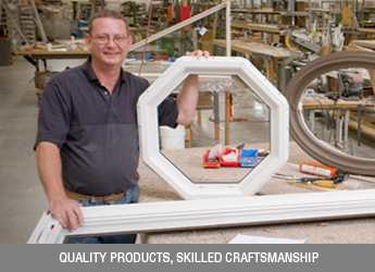 Quality products, skilled craftsmanship