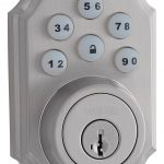 Smart Code deadbolt - Satin Nickel