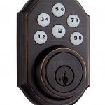 Smart Code deadbolt - Venetian Bronze