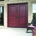 Entrance door - Cherry double doors