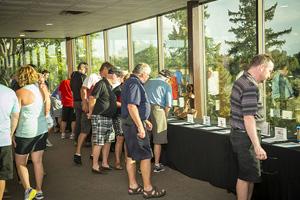 Strassburger Golf image silent auction