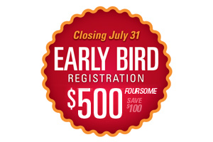 Early Bird Registration Foursome