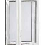 3000 Casement window inside open