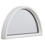 3000 Half Round Fixed window inside