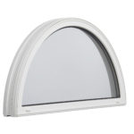 3000 Half Round Fixed window outside
