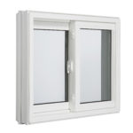 3000 Tilt Double Slider window inside