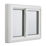 3000 Tilt Double Slider window outside