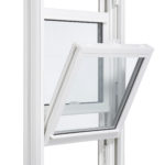 3650 Double Hung window inside open