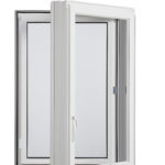 5000 Casement window inside open