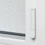 Casement window lock closed