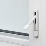 Casement window lock open