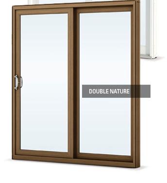 DoubleNature patio door details