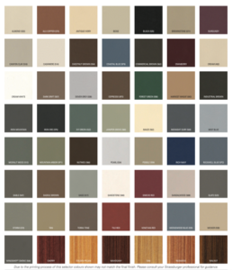 Strassburger Paint and Stain Colour Selector